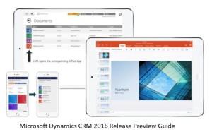 Microsoft Dynamics CRM 2016 gestion documentos